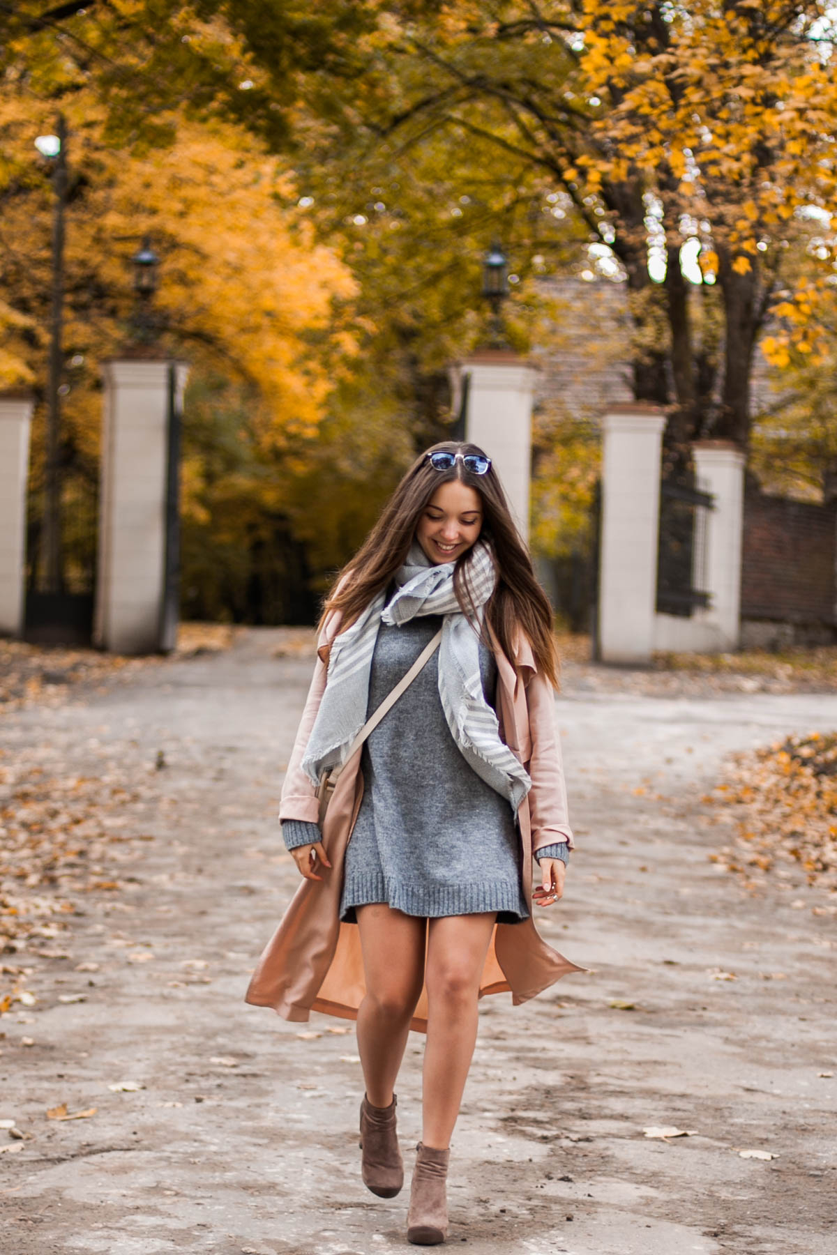 długi sweter stylizacja
