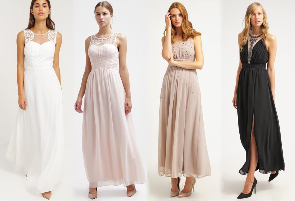 maxi długa sukienka na studniówkę
