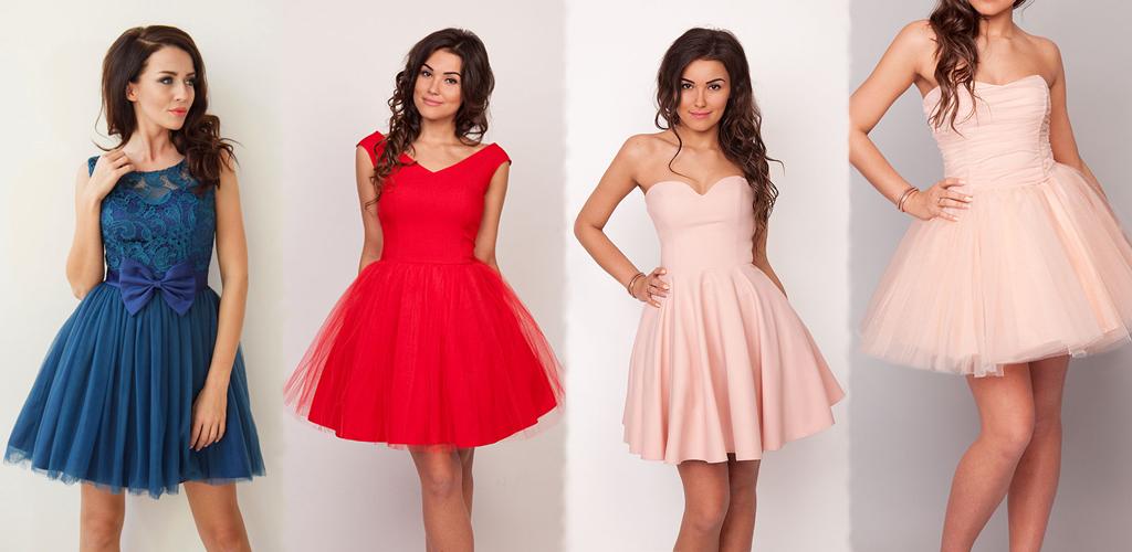 sukienkowo tiulowe sukienki na studniówkę