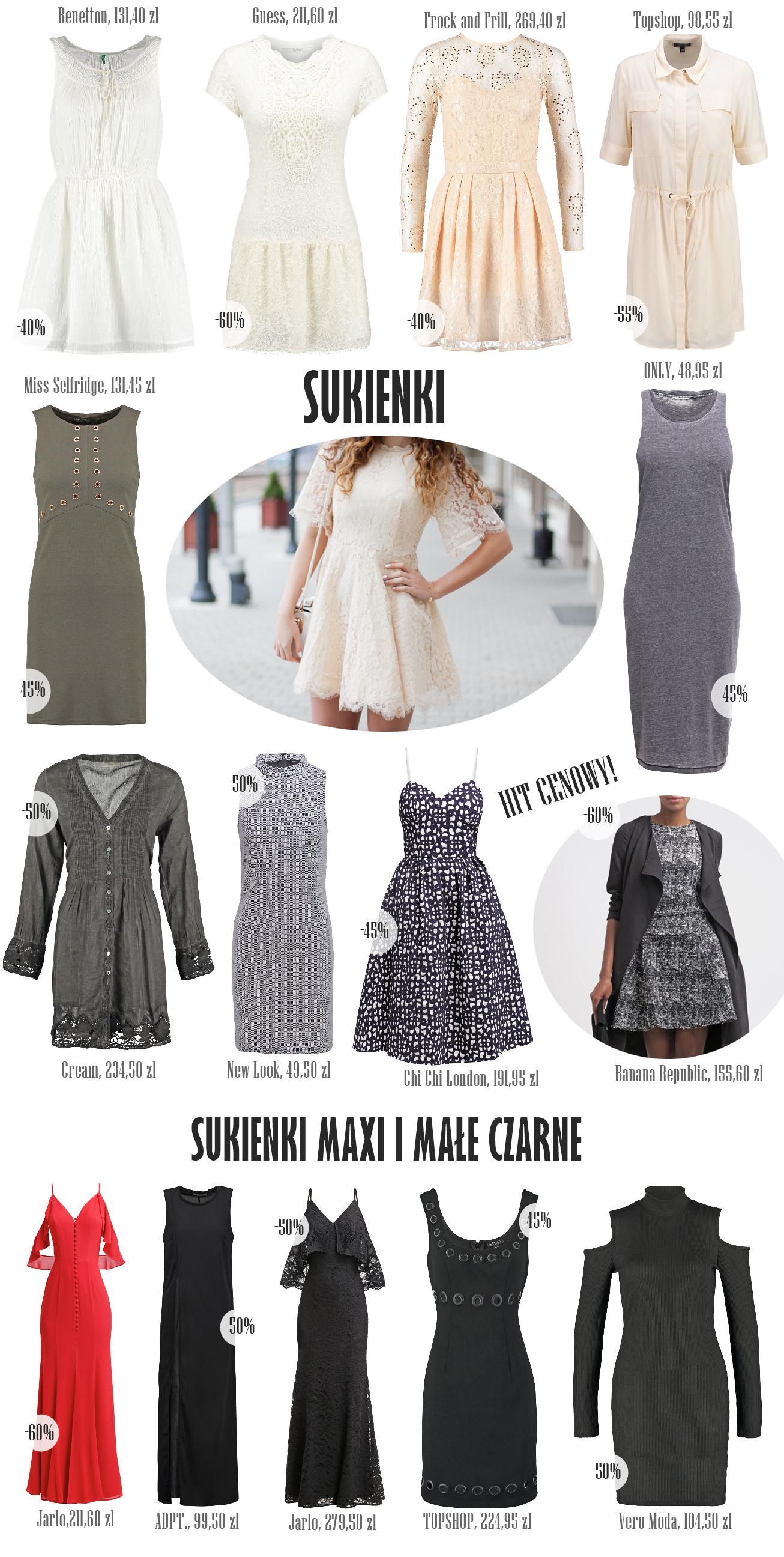 sukienki które warto kupić na wyprzedaży