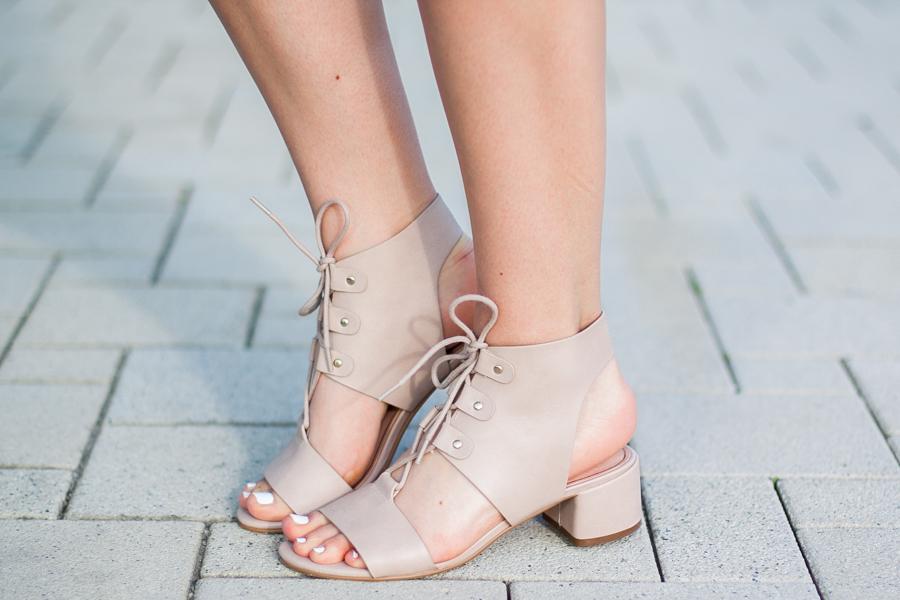 wiązane buty topshop stylizacja