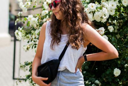 dresowa spódnica missguided stylizacja