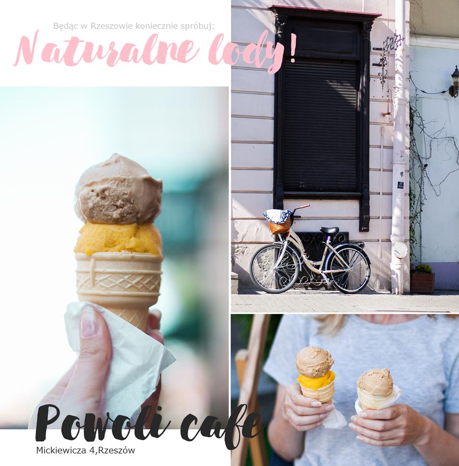 Naturalne lody Rzeszów Powoli cafe