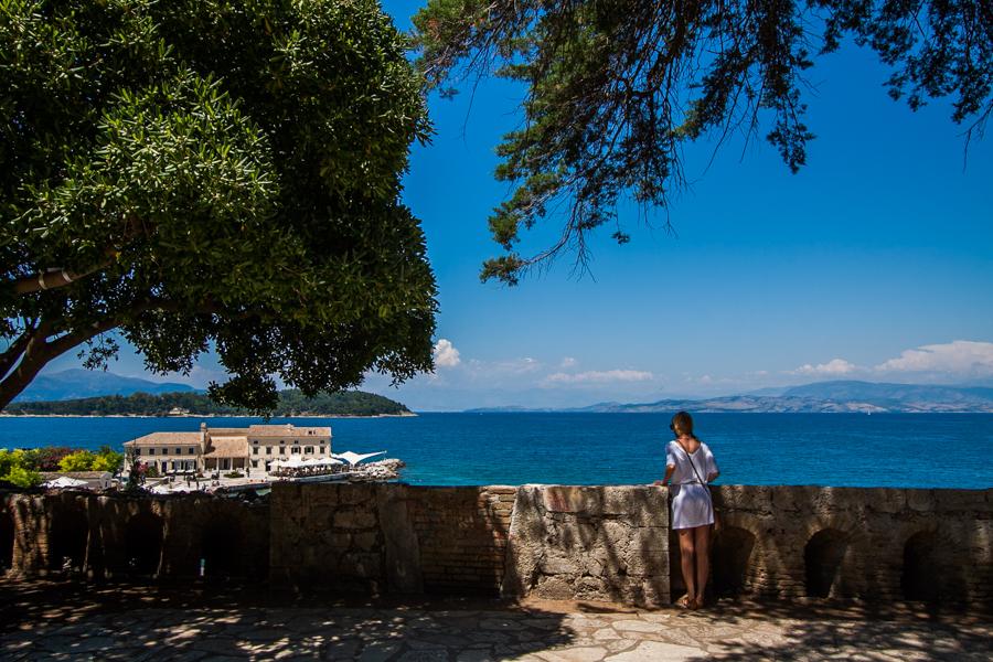 Faliraki grecja korfu corfu punkt widokowy