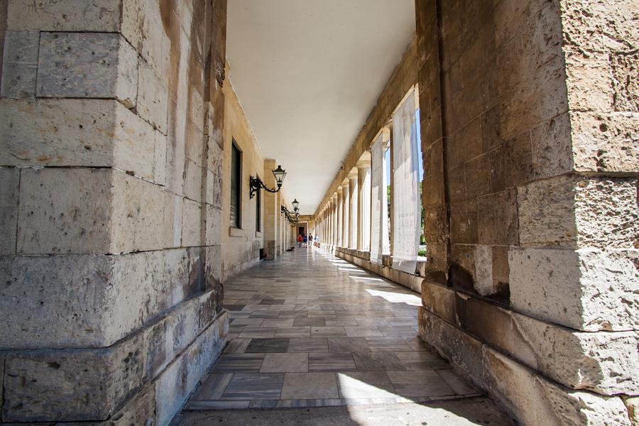 Muzeum sztuki azjatyckiej grecja miasto korfu