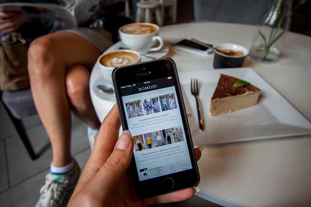 Aplikacja mobilna domodi zakupy