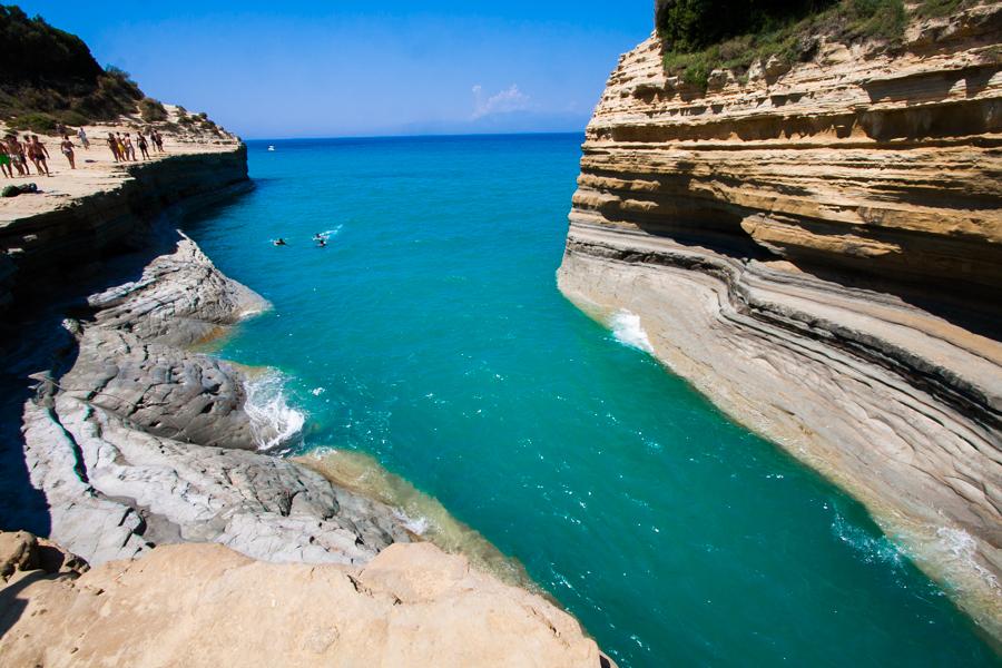 Kanał Miłości Canal D'Amour Korfu