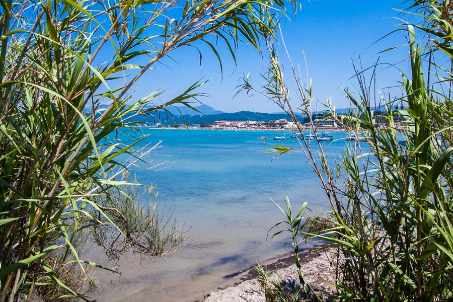 sidari plaża korfu grecja