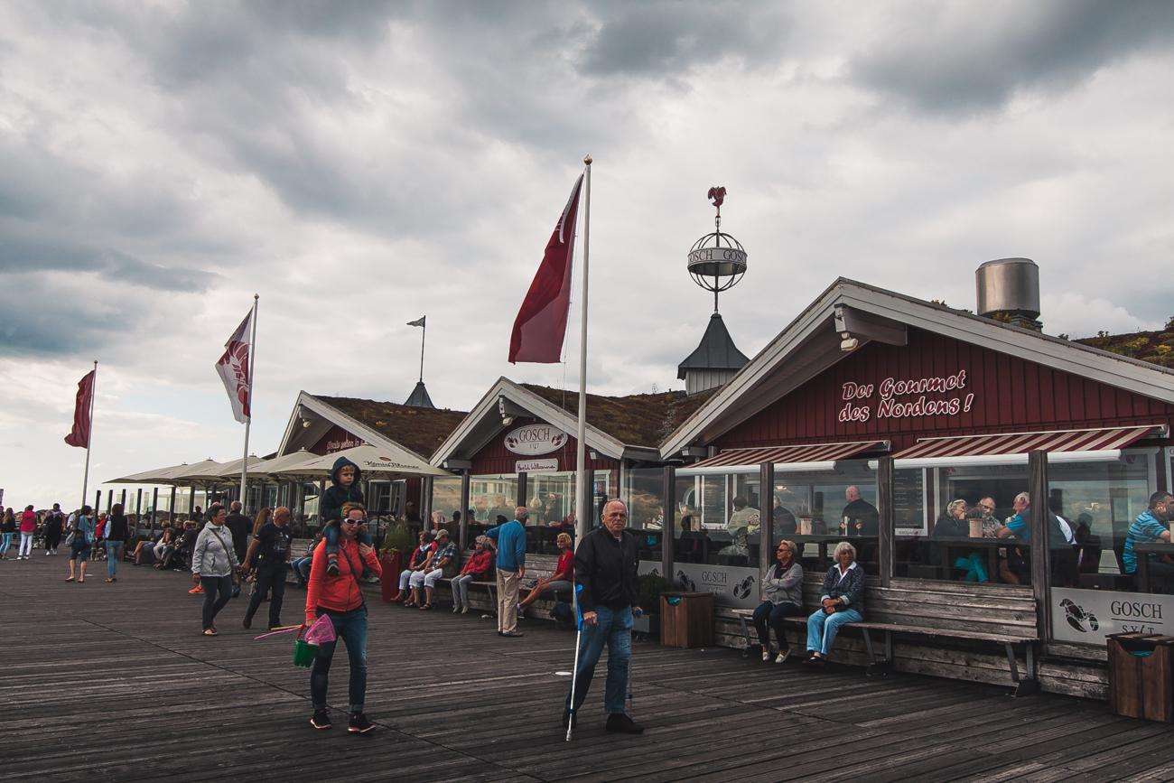gosch restauracja niemcy krewetki owoce morza