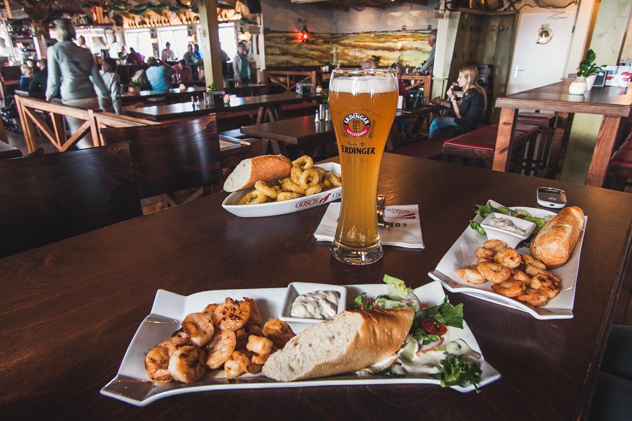 gosch restaurant schrimps