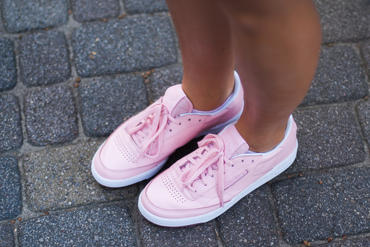 różowe reebok classic buty