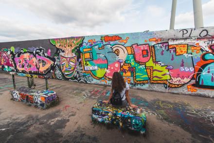 Mauerpark berlin graffiti