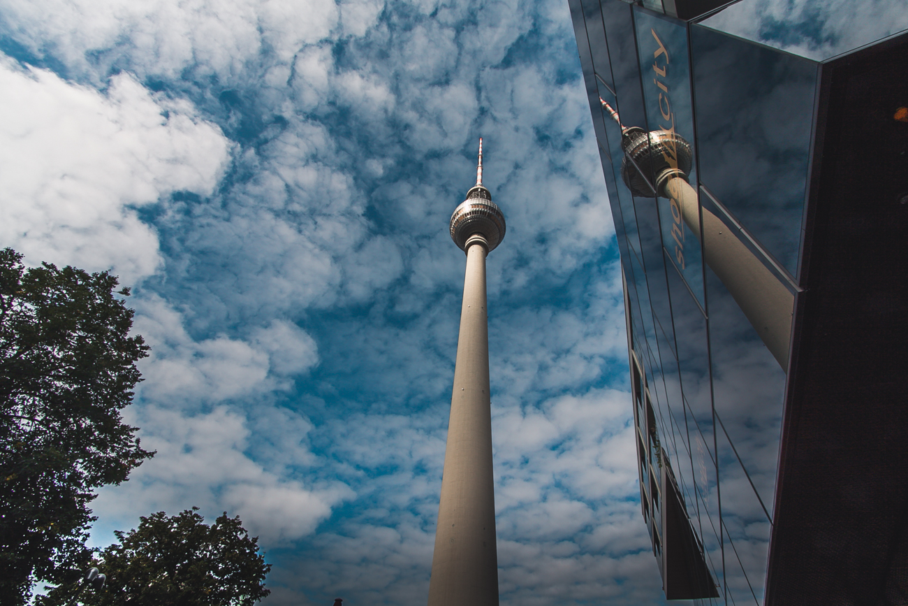 wieża radiowa berlin