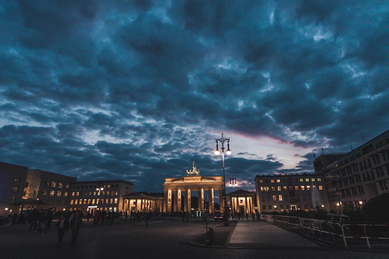 Brama brandenburska atrakcje Berlina
