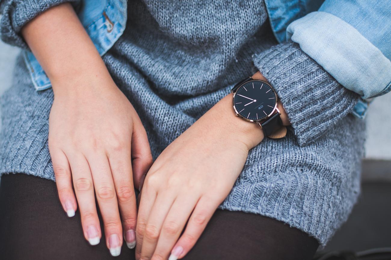 zegarek daniel wellington black kod rabatowy zniżka