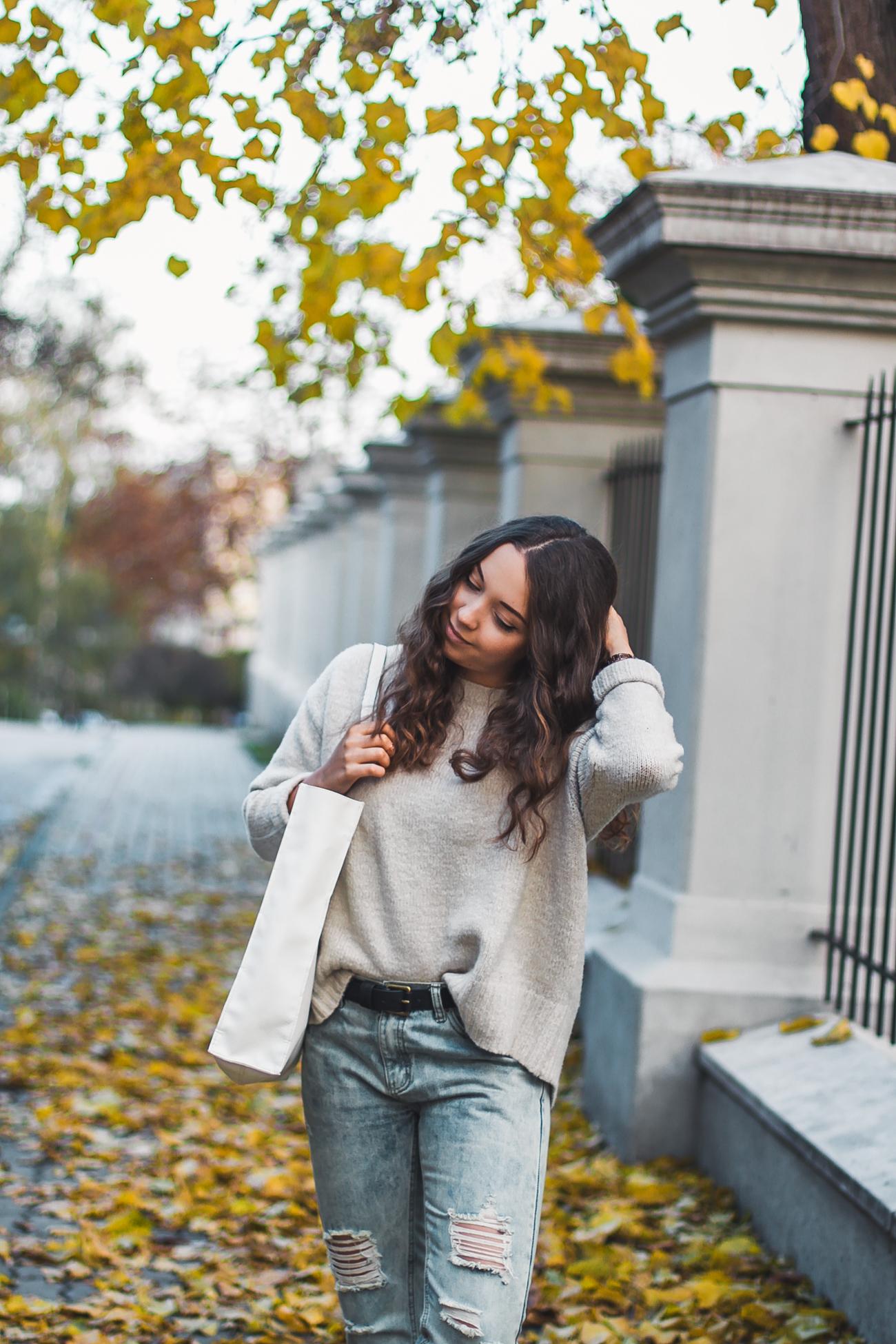 casualowa stylizacja na jesienny casual