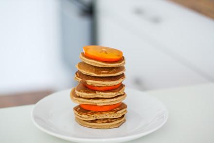 kokosowe pancakes fit śniadanie