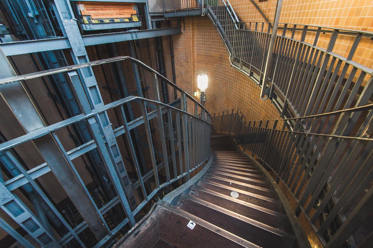 stary Tunel pod łabą Hamburg atrakcje co zobaczyć