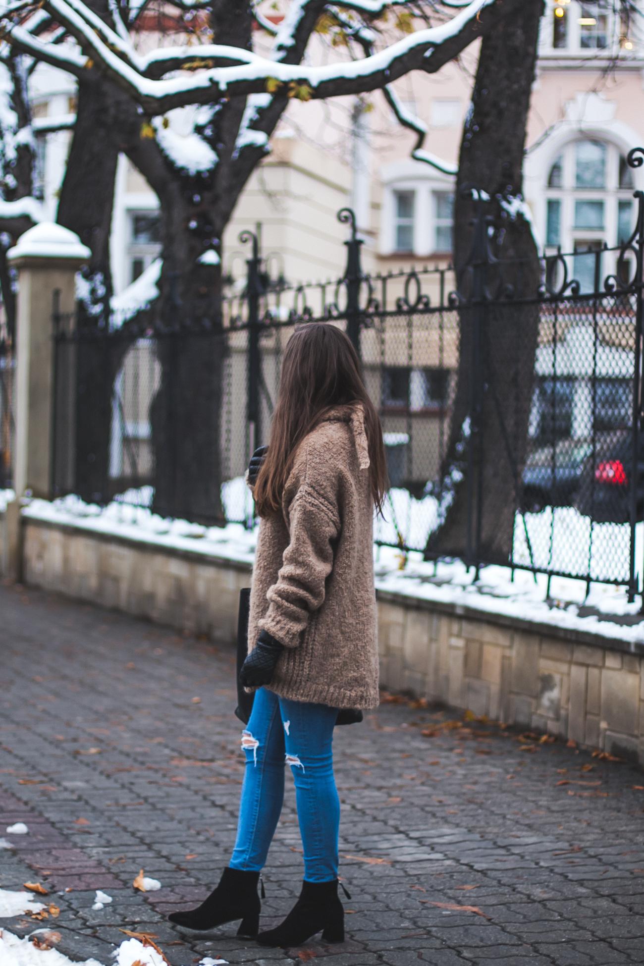 Botki zamszowe deezee zimowe