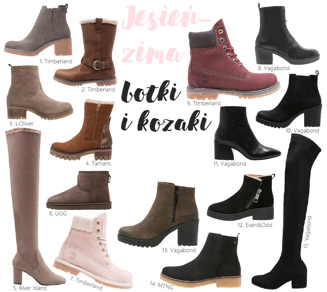 Jakie buty botki kozaki kupić na zimę