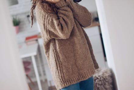 zimowy niezbędnik zakupowy ciepły sweter zara