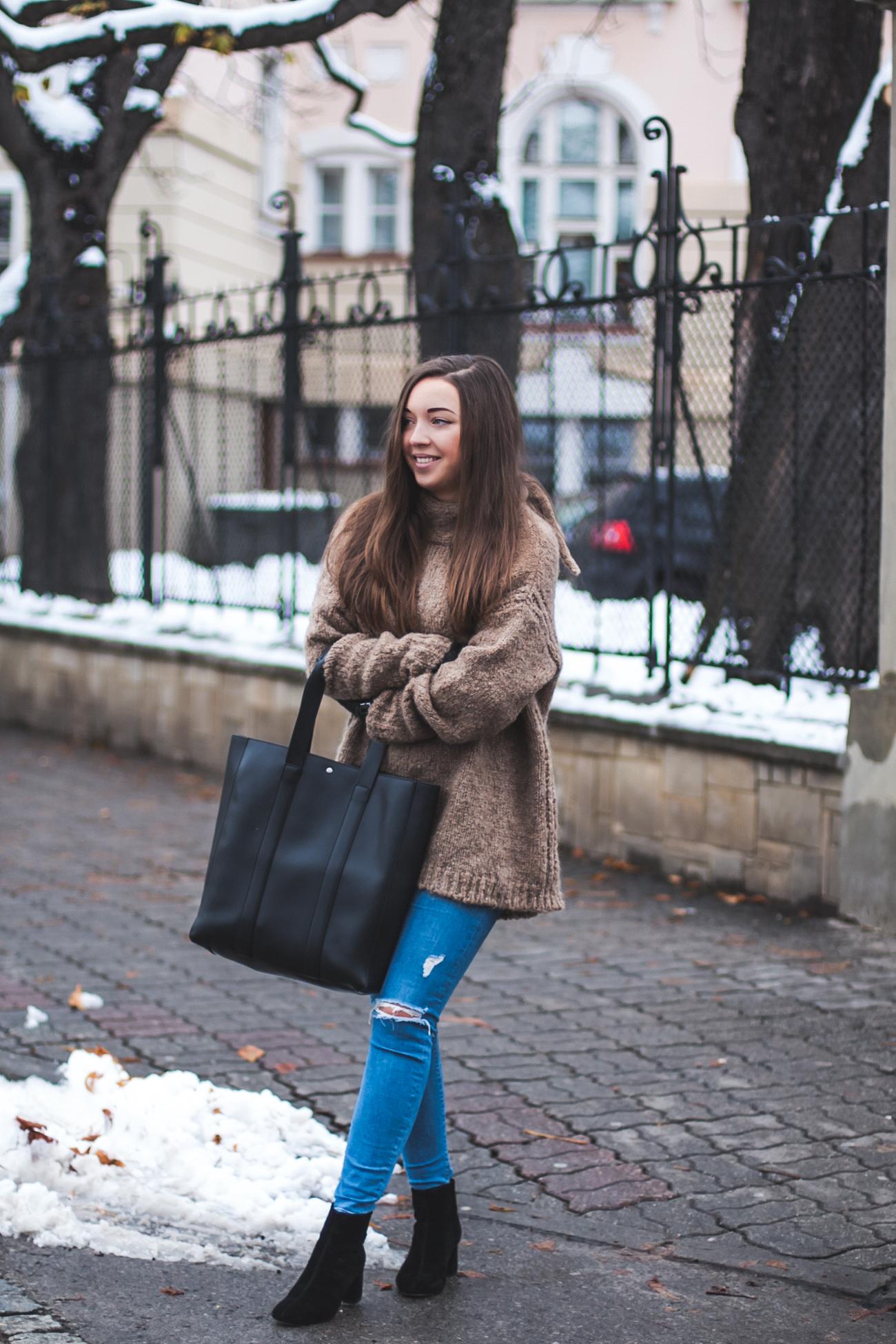 topshop jamie jeans stylizacja