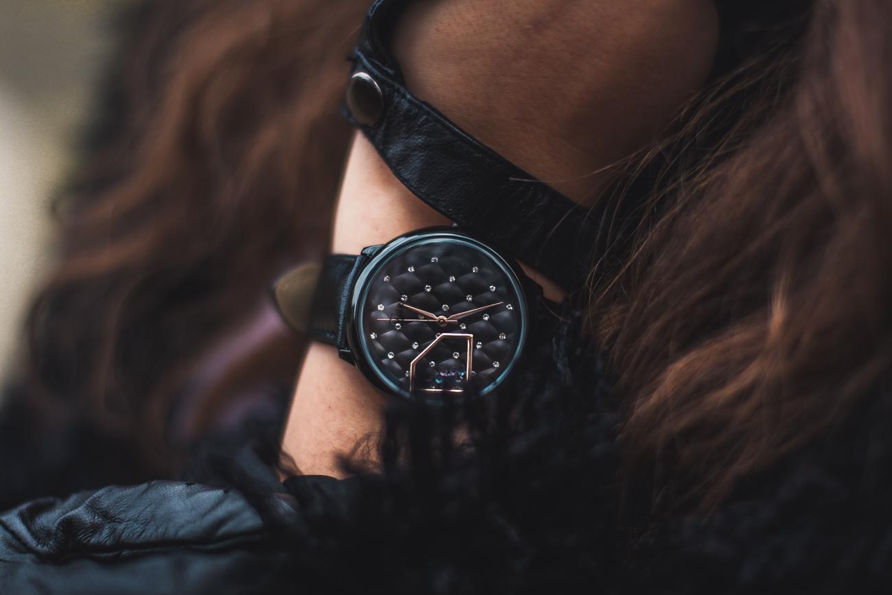 ruben verdu zegarek z diamencikami