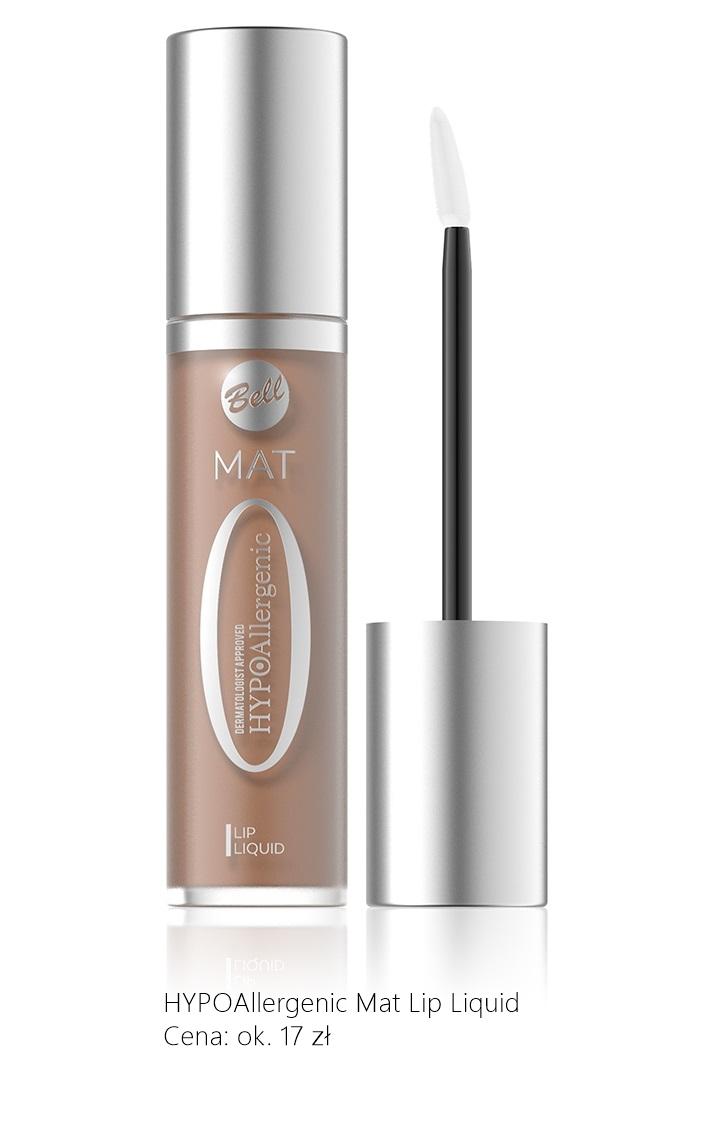 matowa szminka bell HYPOAllergenic Mat Lip Liquid