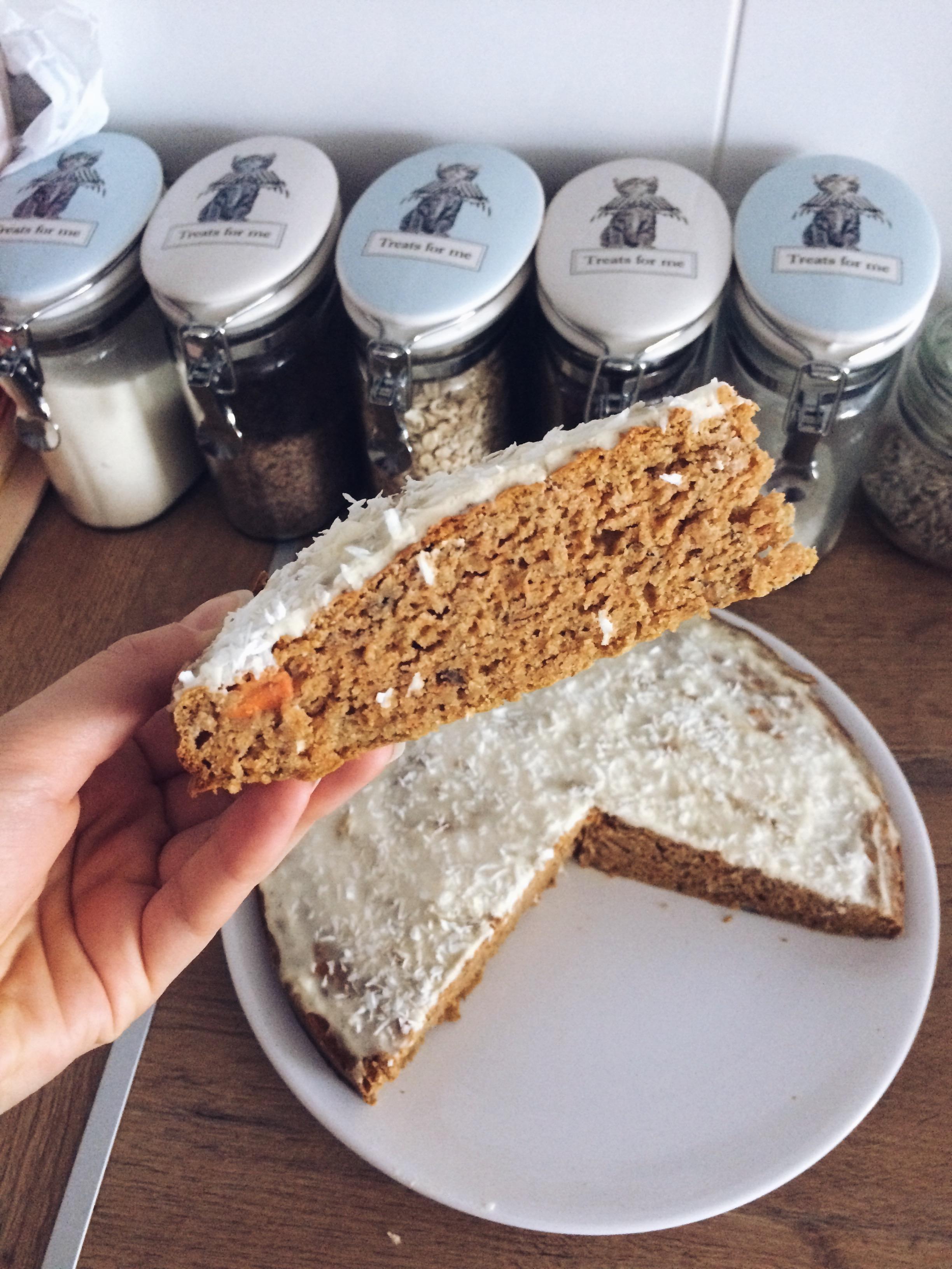 fit ciasto marchewkowe dietetyczne
