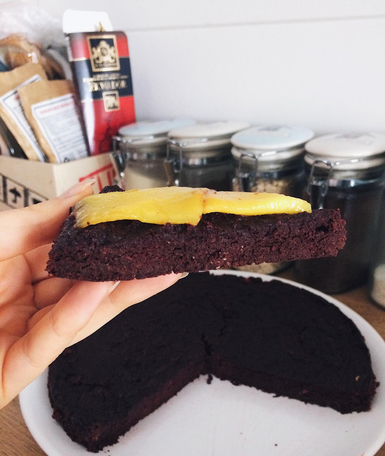 Fit brownie dietetyczne ciasto czekoladowe