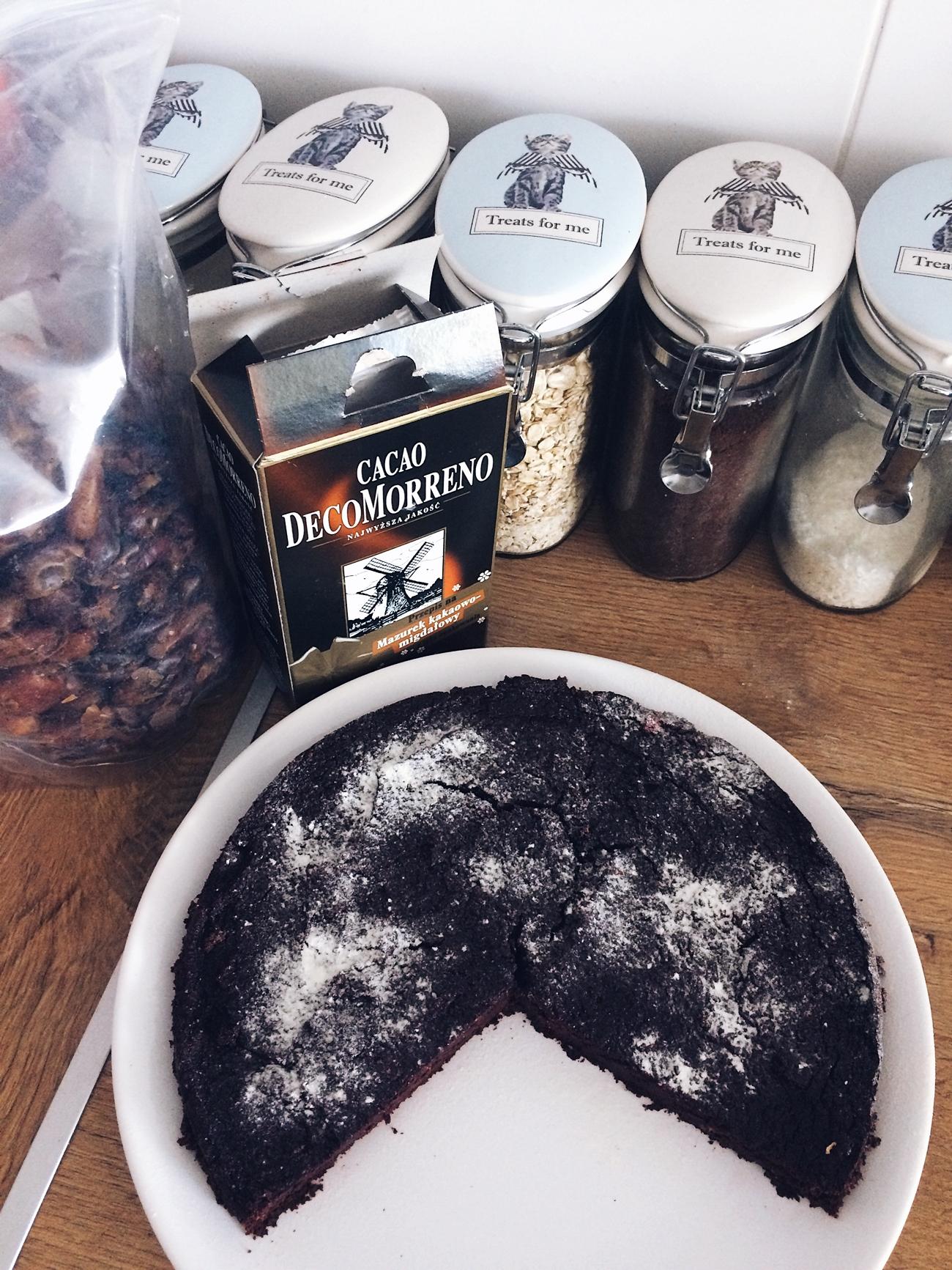 ciasto z buraków fit brownie
