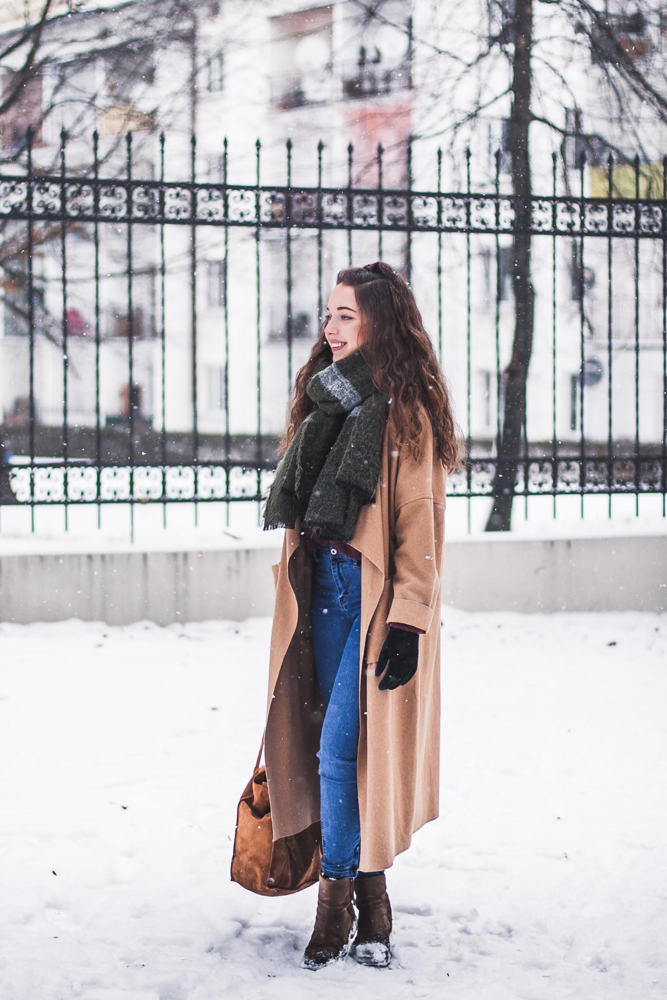idealne jeansy stylizacja blog