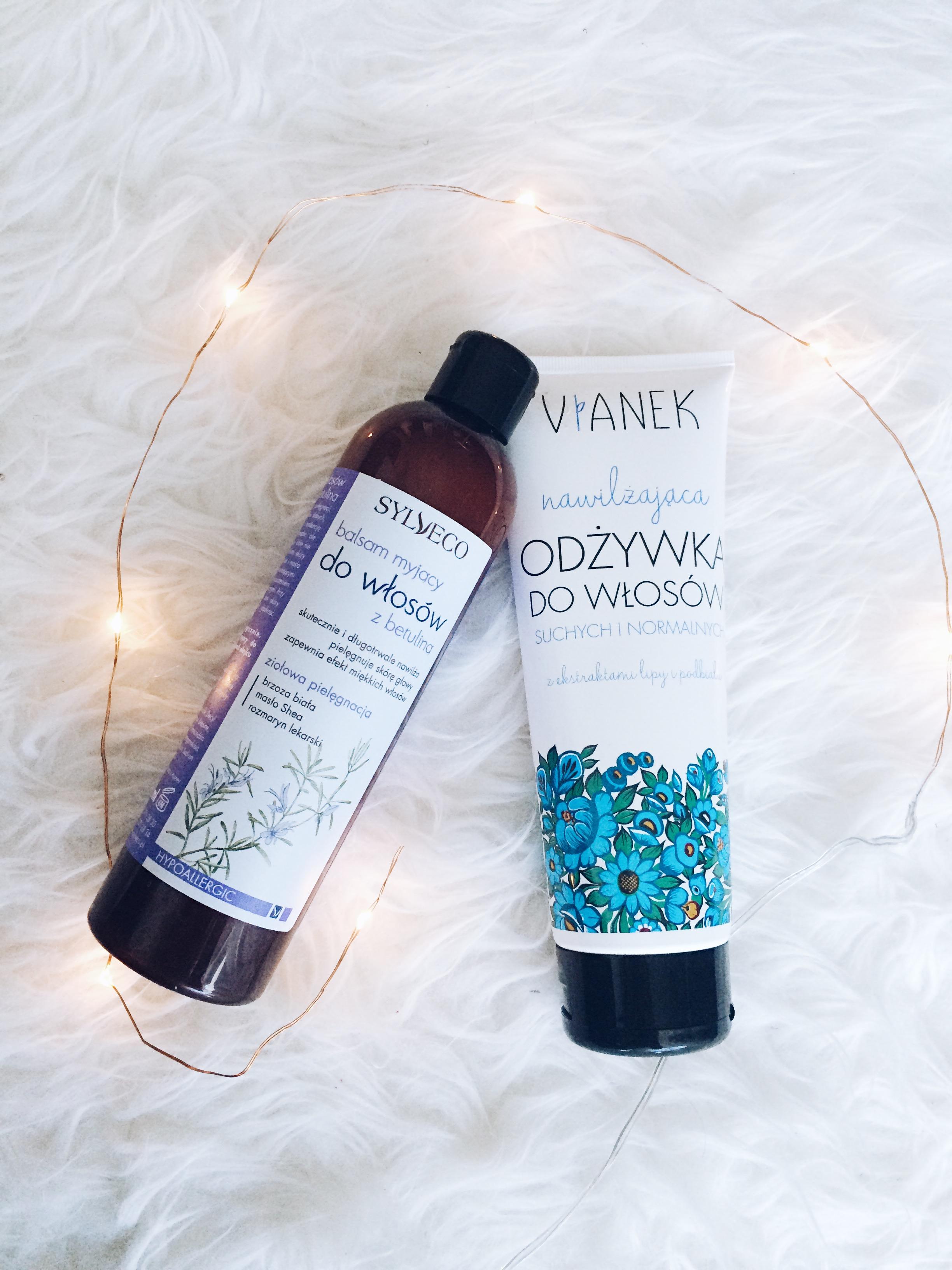 odżywka do włosów vianek sylveco kosmetyki naturalne odkrycia miesiąca grudzień