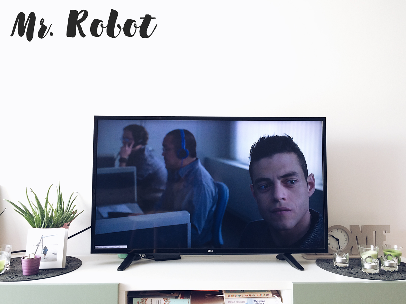Serial Mr robot