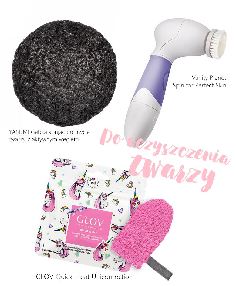 urządzenia gadżety do czyszczenia twarzy