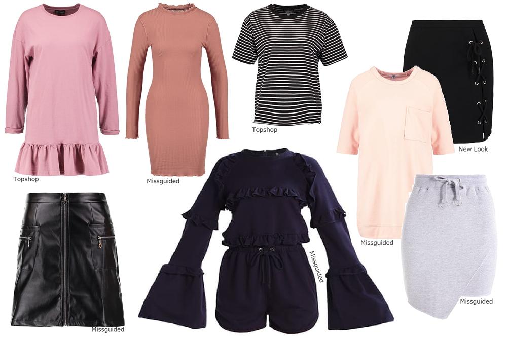Wiosenne ubrania zakupy