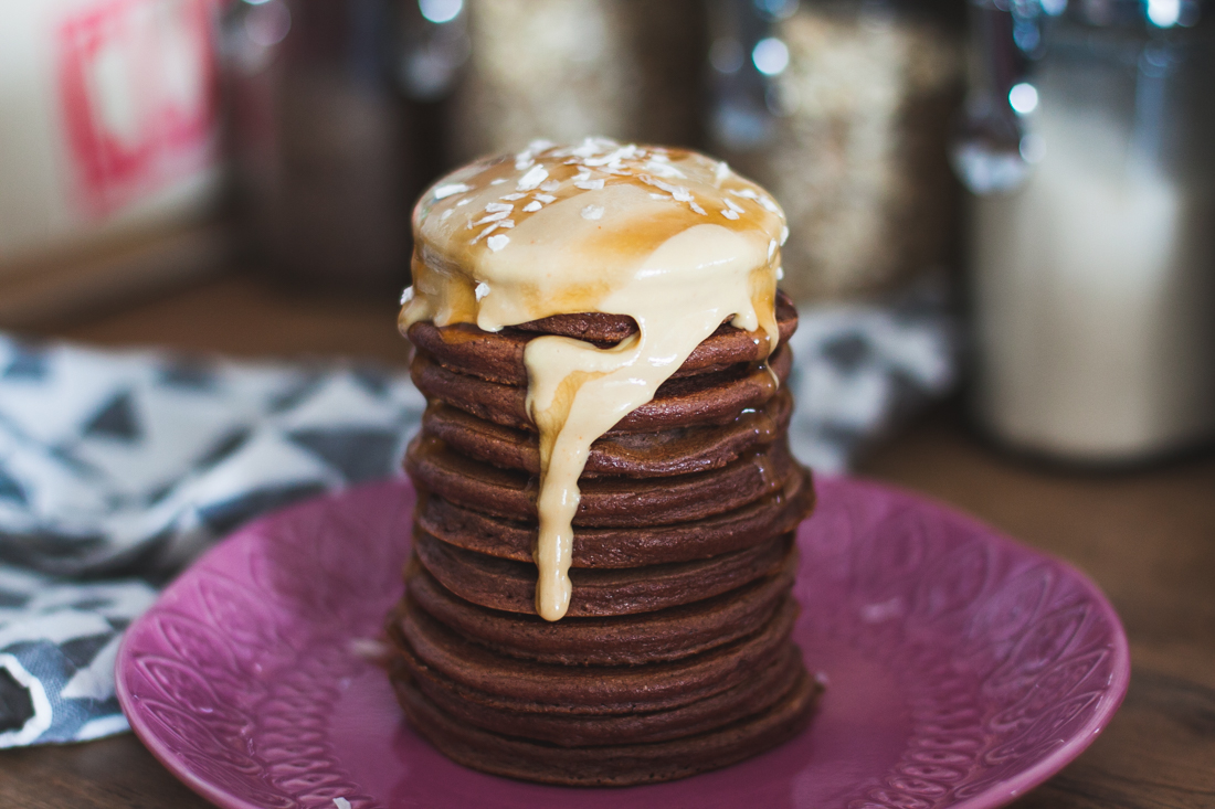 amarantusowe pancakes fit przepis