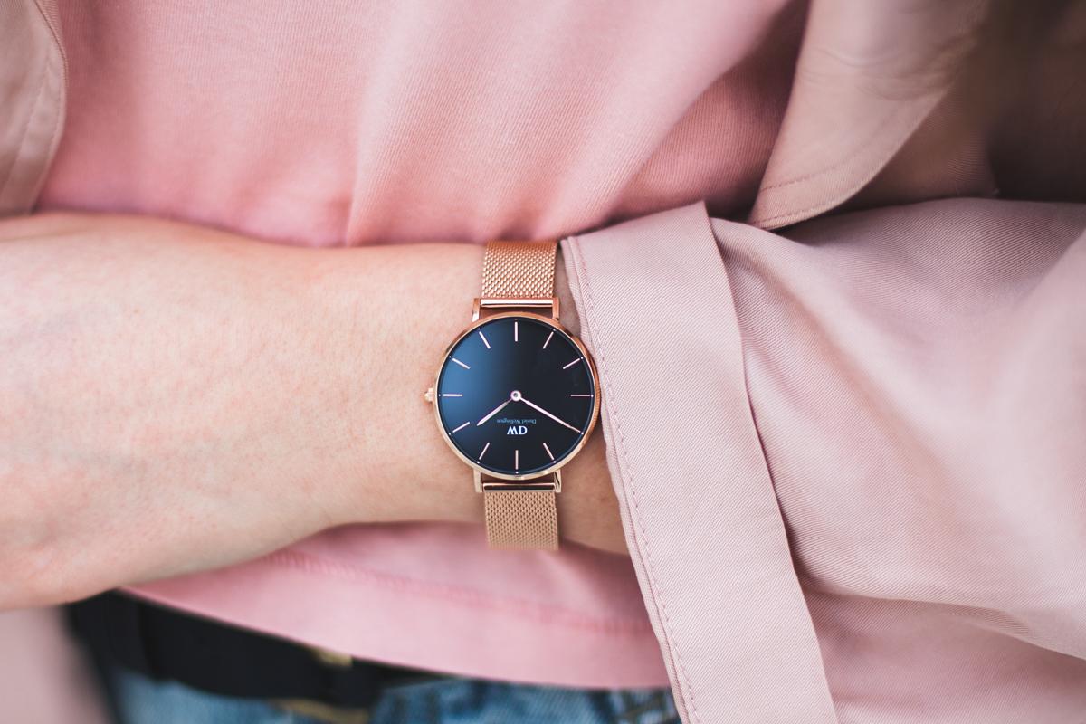 daniel wellington classic petite zegarek