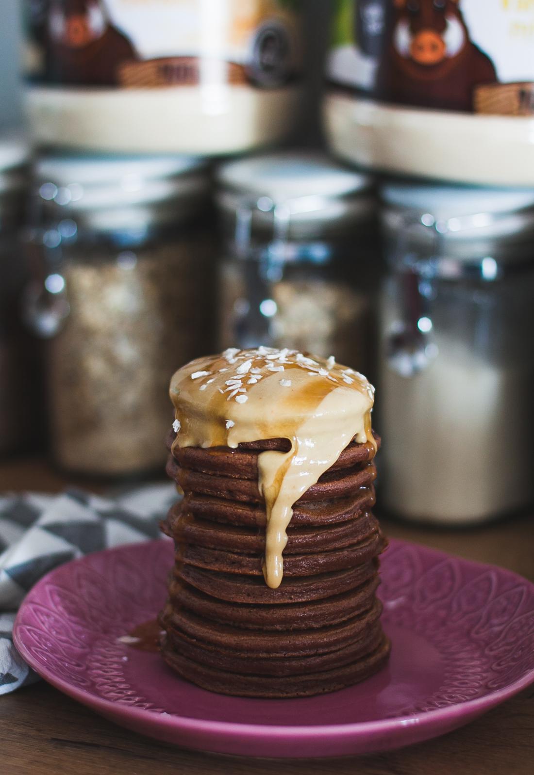 pancakes z mąki z amarantusa fit przepis