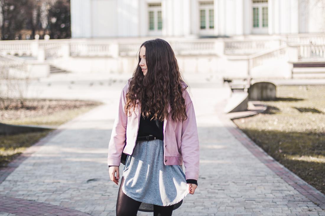 pastelowa kurtka blog