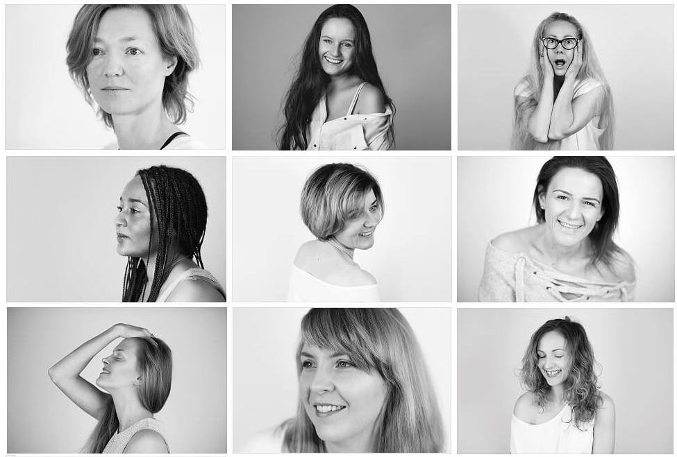 Wystawa kobiet bez makijażu rzeszów powoli cafe #NoMakeUpWomen