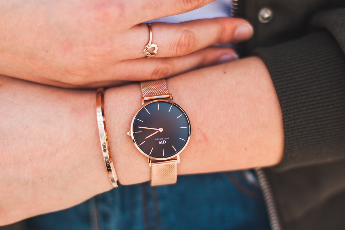 zegarek daniel wellington różowe złoto rabat