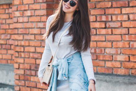 jeansowa kurtka damska