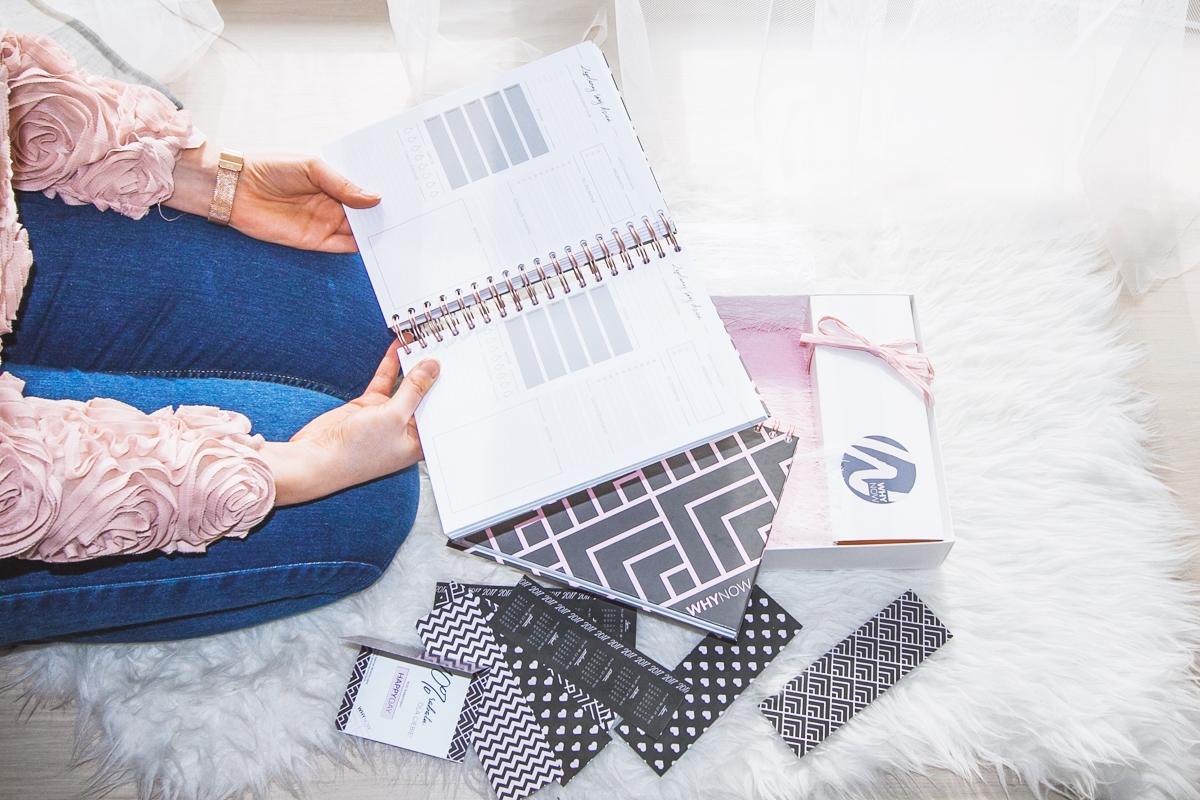 planner kalendarz dla blogerów whynow