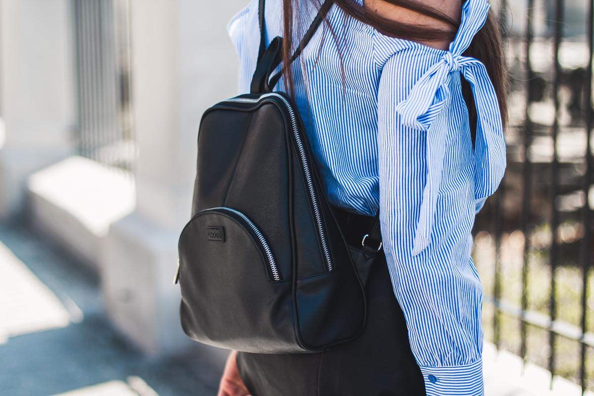 czarny plecak kadell