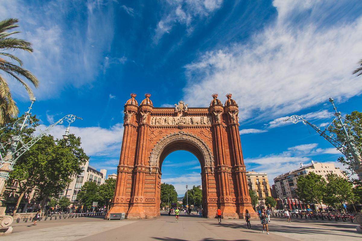 Łuk Triumfalny w Barcelonie (Arc de Triomf)
