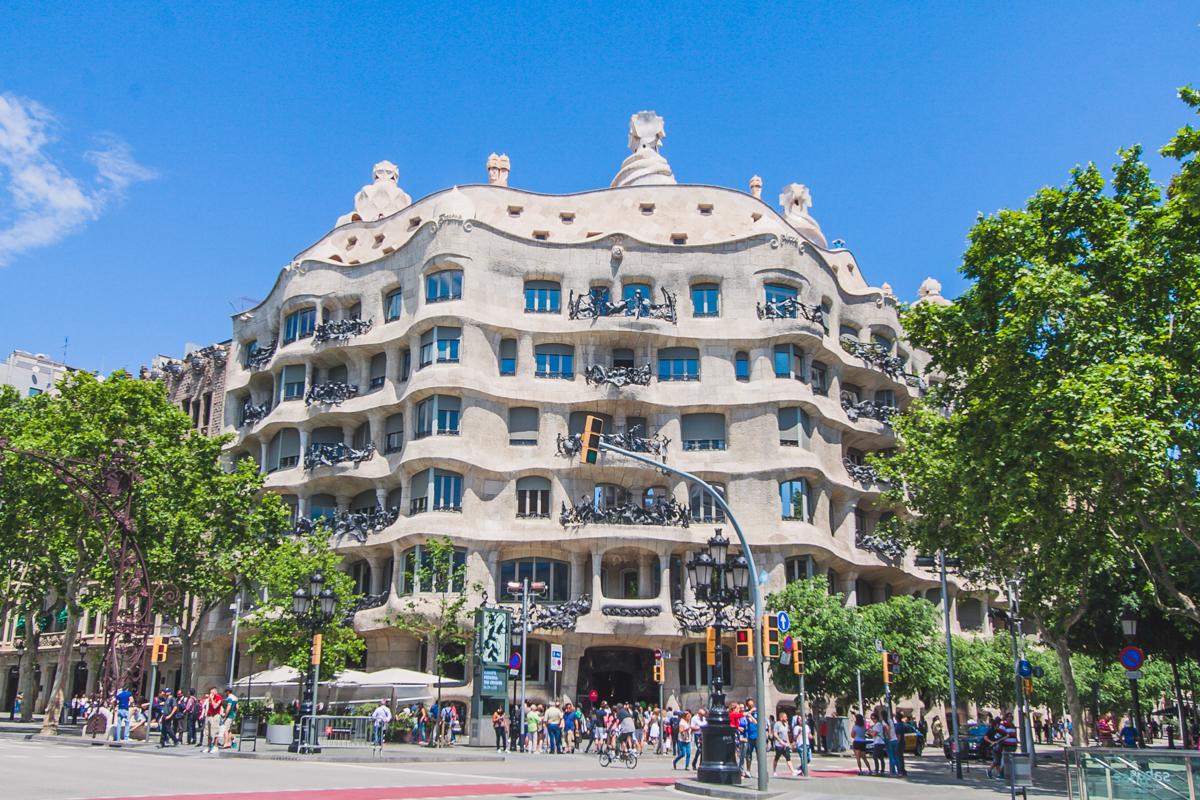 Casa Milà co zobaczyć w barcelonie