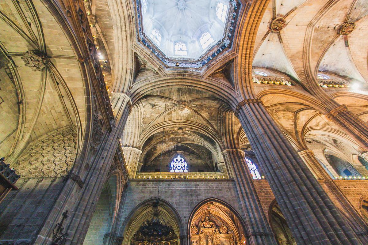 Catedral de Barcelona Katedra św. Eulalii w Barcelonie