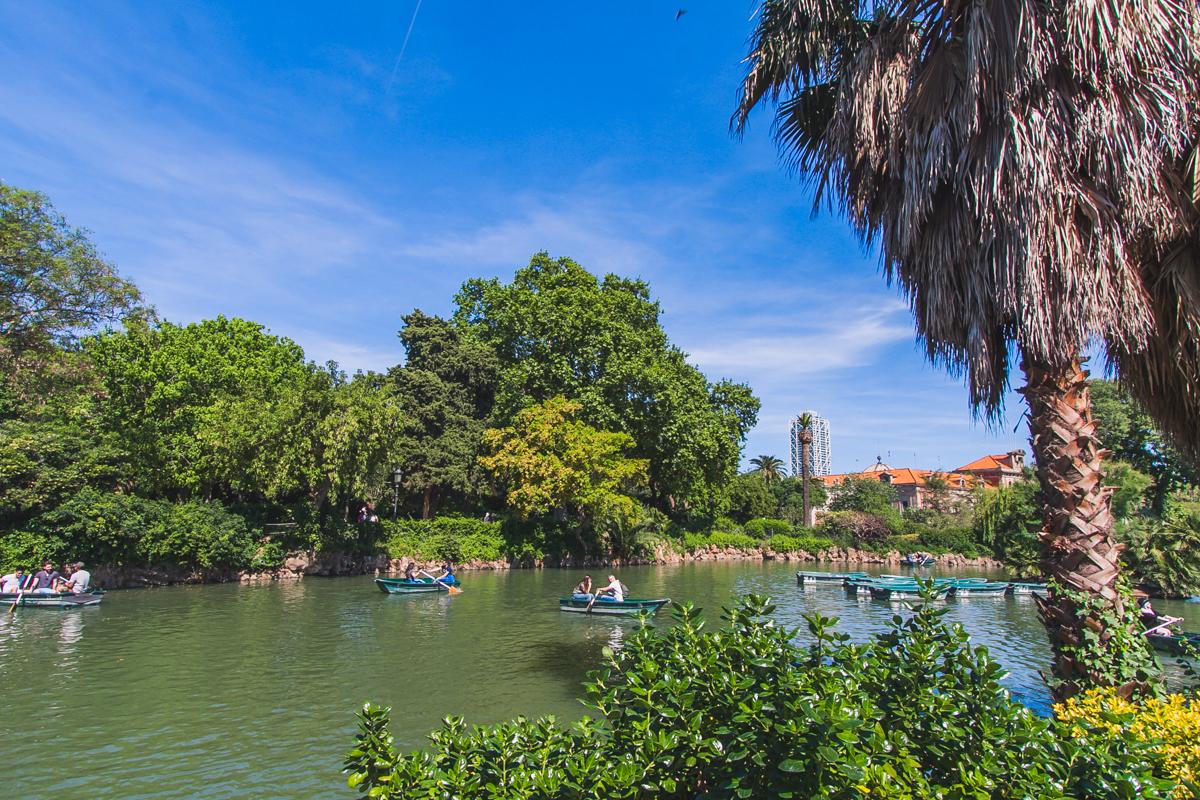 park barcelona zwiedzanie