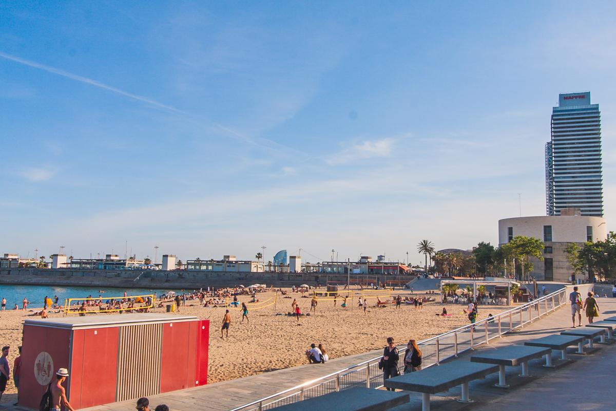 Platja Nova Icaria barcelona plaże